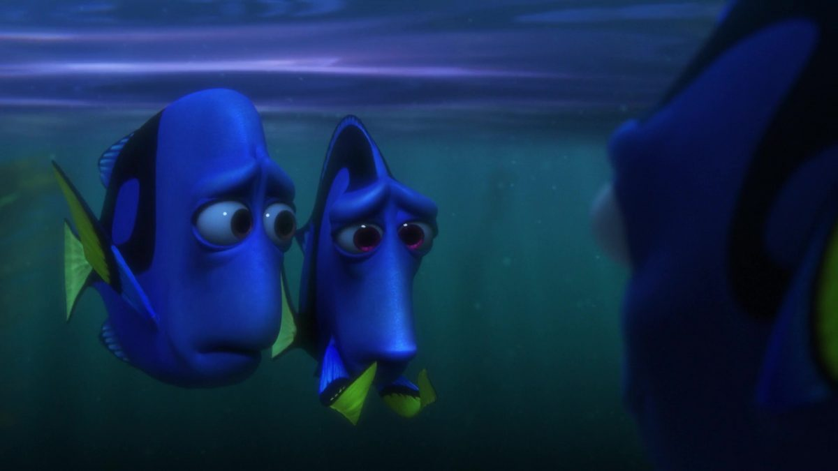 charlie personnage character monde finding dory disney pixar