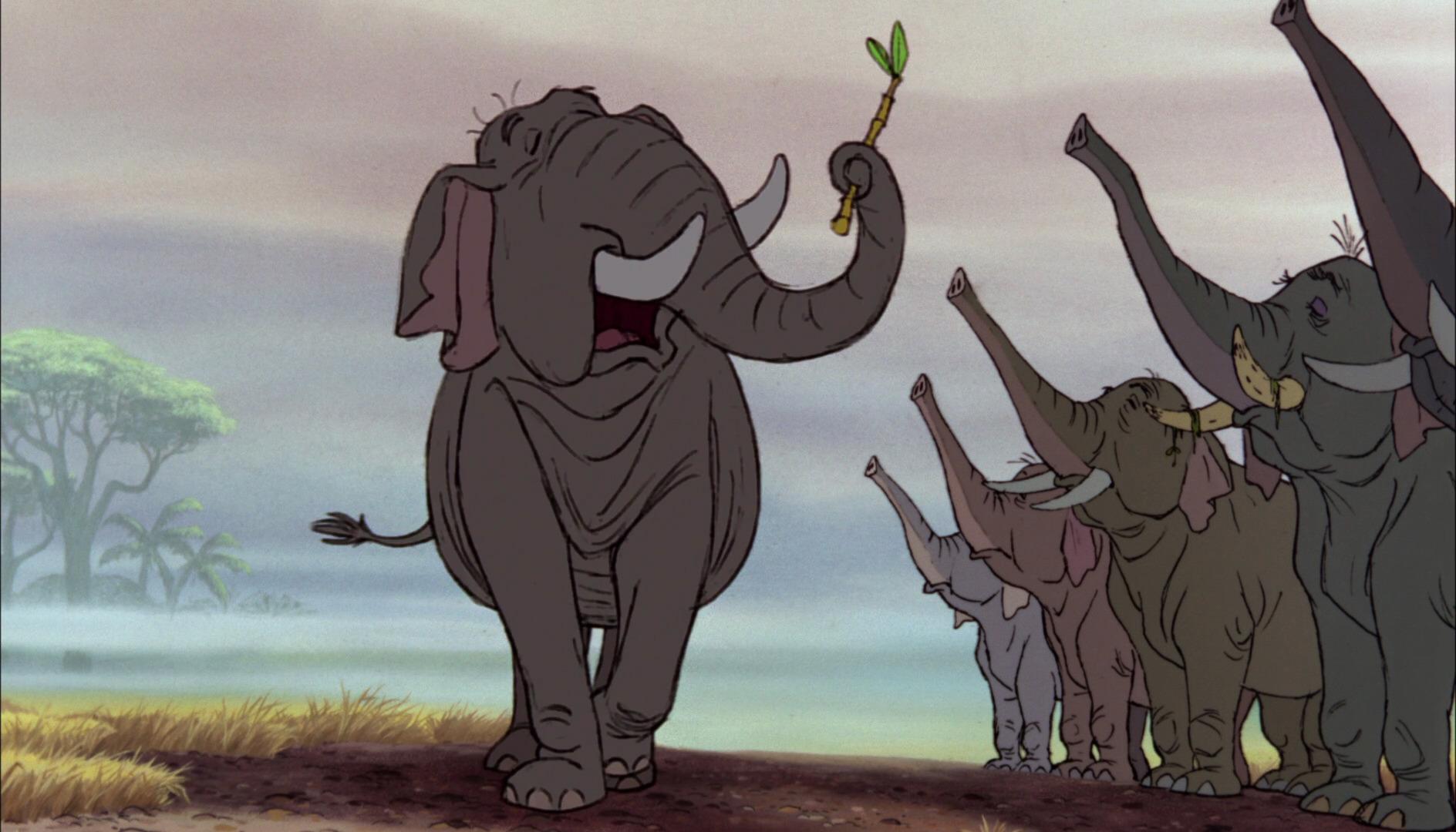 colonel hathi elephant personnage le livre de la jungle disney book character