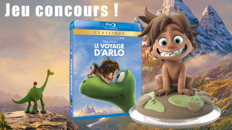 """Gagnez des Blu-Ray, DVD et Goodies de """"Le Voyage d'Arlo"""" !"""