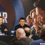 conférence presse captain america civil war marvel disney