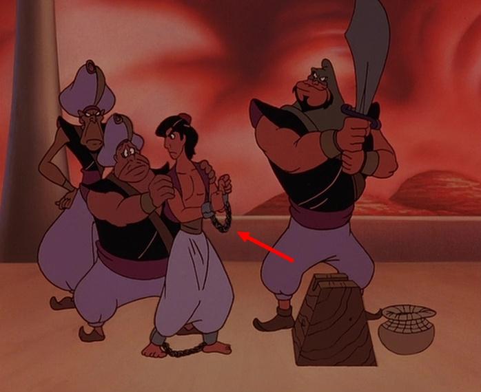 faux raccords disney le retour de jafar