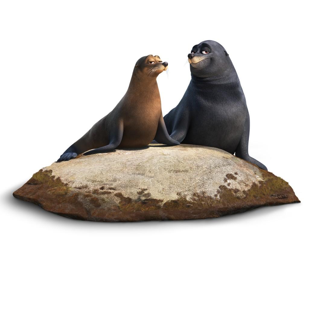 fluke rudder pixar disney le monde de dory finding personnage character