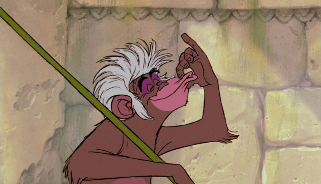 flunky monkey personnage le livre de la jungle disney book character