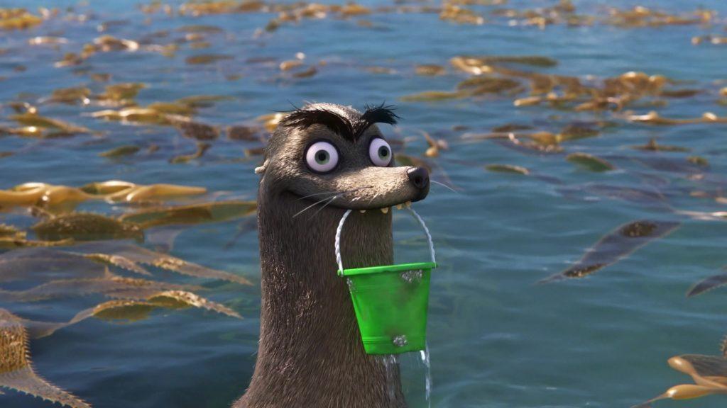 gerard gerald pixar disney personnage character monde dory finding