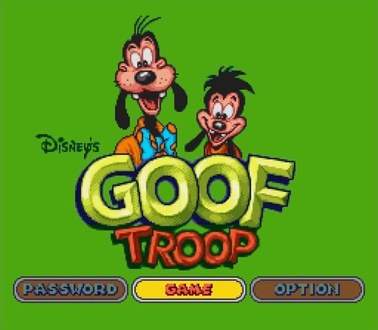 disney goof troop jeu video