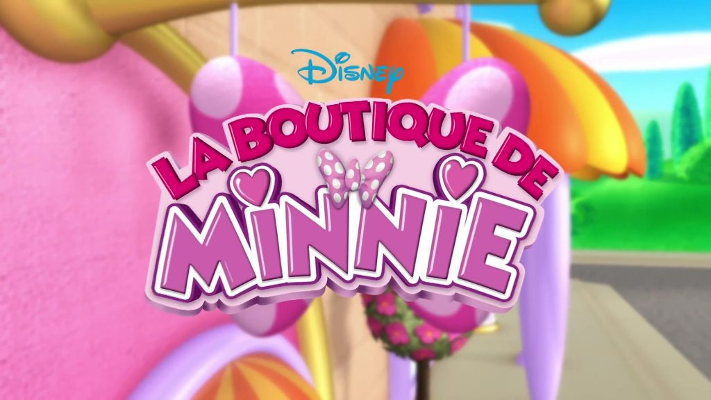 la boutique de minnie disney junior