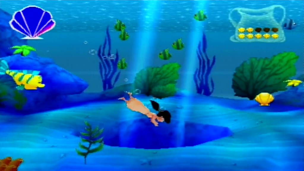la petite sirene 2 jeu video disney