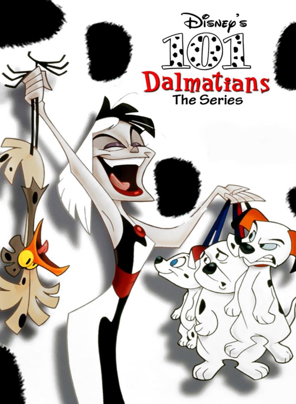 les 101 dalmatiens la série disney