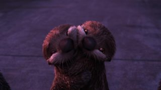 loutre otter pixar disney personnage character monde dory finding