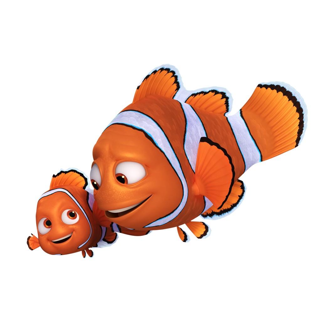 marin nemo marlin pixar disney le monde de dory finding personnage character
