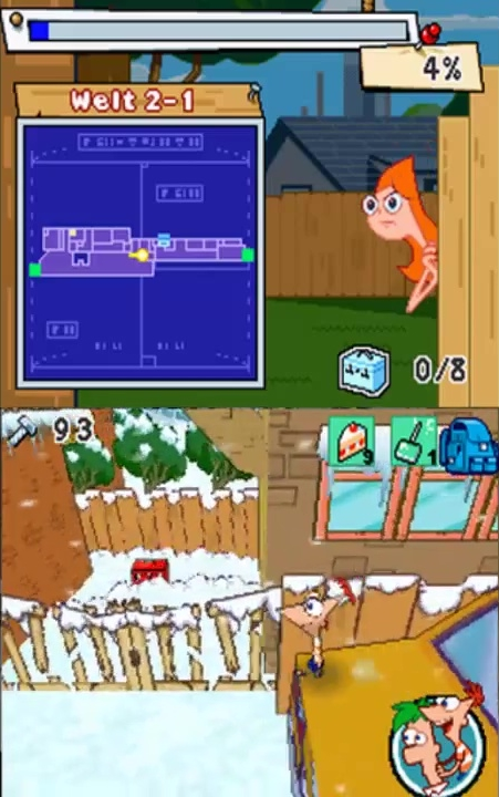 phineas et ferb jeu video ds disney