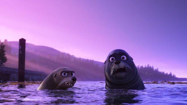 rudder personnage character monde finding dory disney pixar
