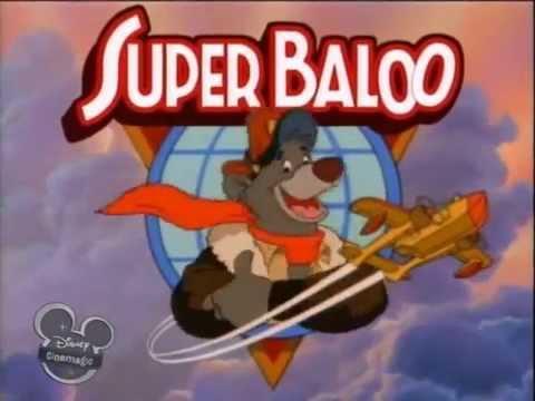 disney super baloo talespin