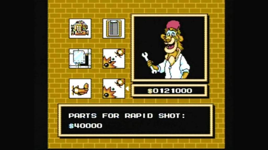talespin super baloo disney jeu video