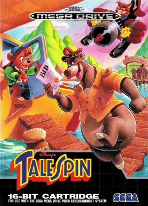 talespin super baloo disney jeu video