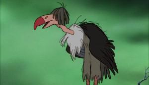 vautour dizzy vulture personnage le livre de la jungle disney book character