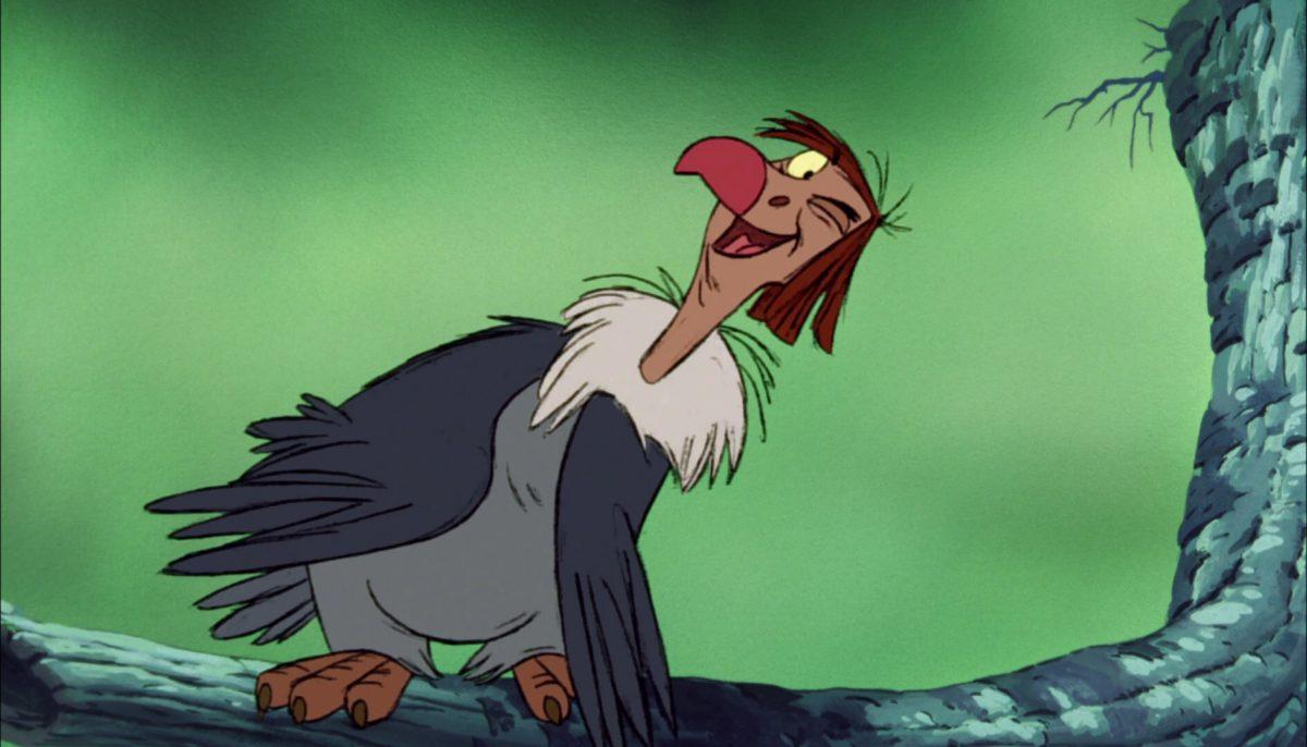 vautour ziggy vulture personnage le livre de la jungle disney book character