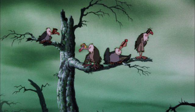 vautour vulture personnage le livre de la jungle disney book character