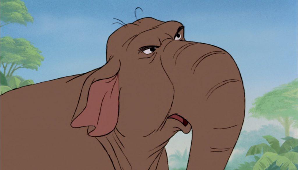 winifred elephant personnage le livre de la jungle disney book character