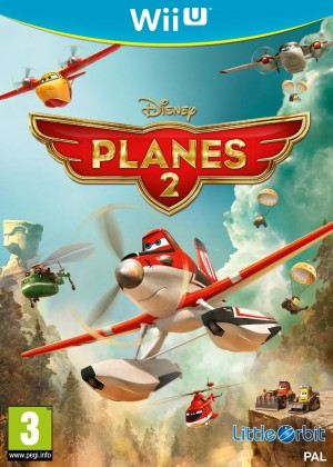 Disney Planes 2 mission canadair jeu video wiiu