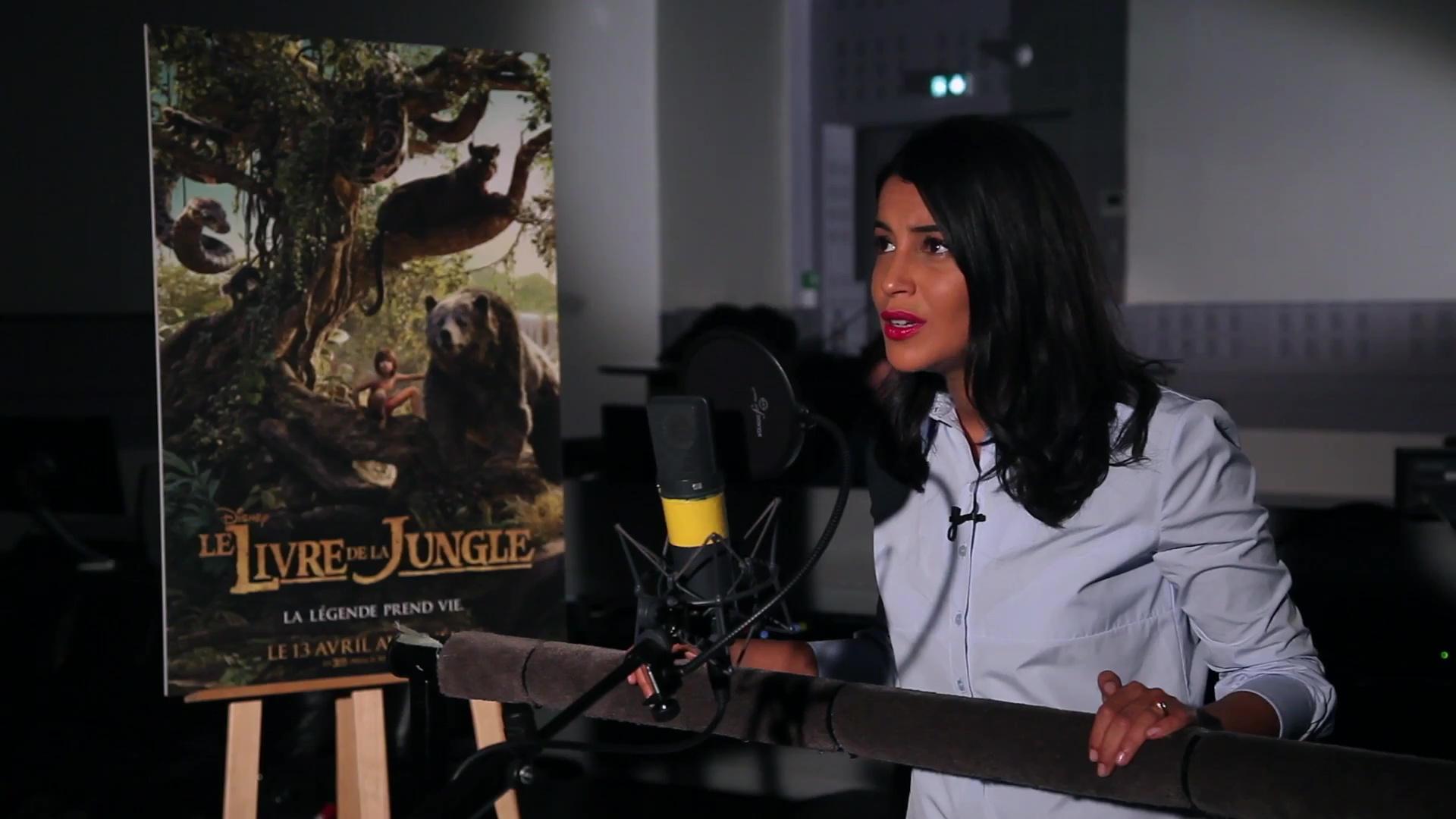 actu disney coulisse doublage français livre de la jungle