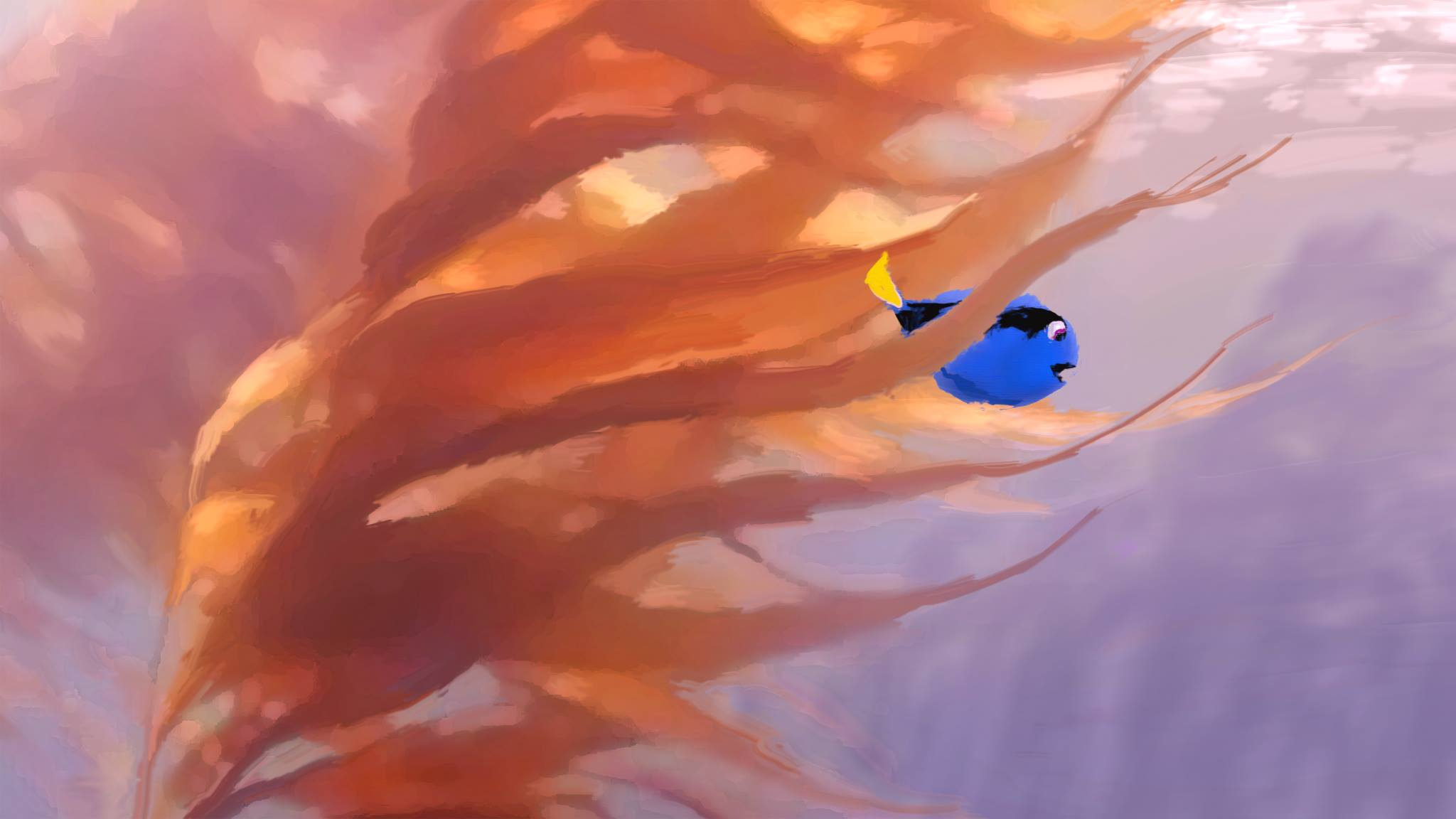 pixar disney le monde de dory finding artwork