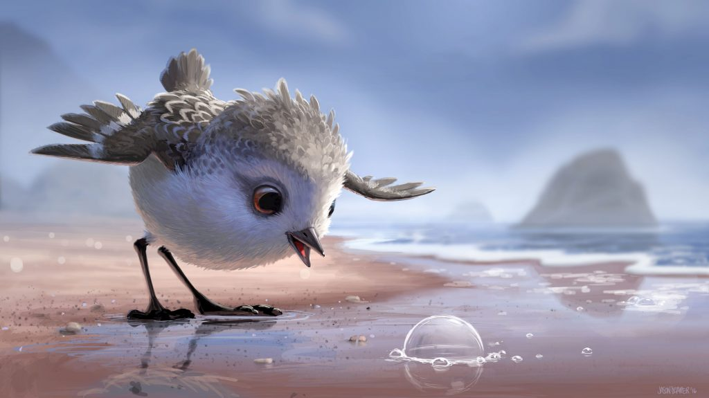 pixar disney piper artwork