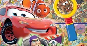 pixar disney cherche et trouve livre amis et héros