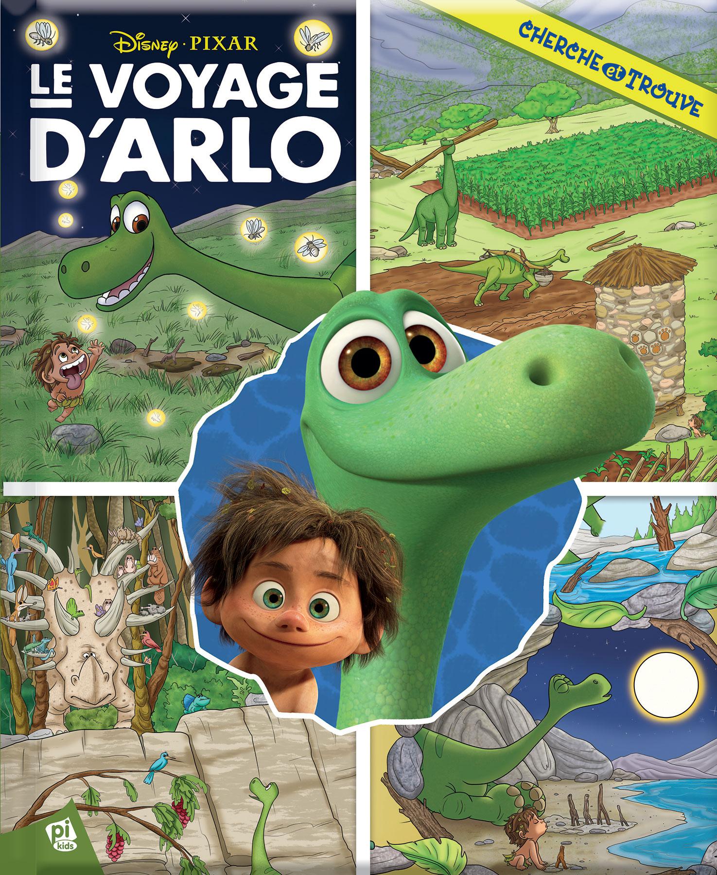 le livre cherche et trouve le voyage d arlo pixar planet fr. Black Bedroom Furniture Sets. Home Design Ideas