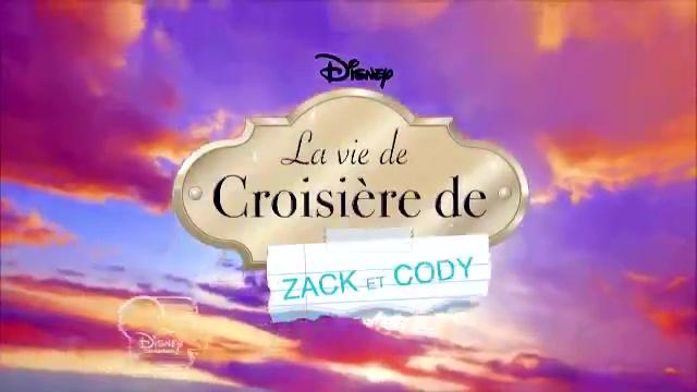 disney channel la vie de croisière de zack et cody serie
