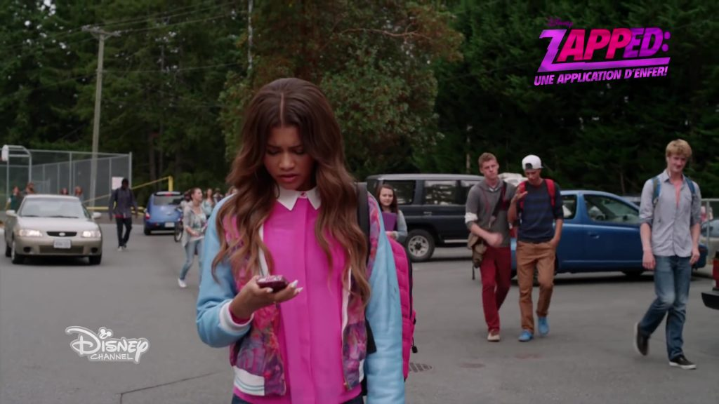 Zapped : Une application d'enfer disney channel original movie