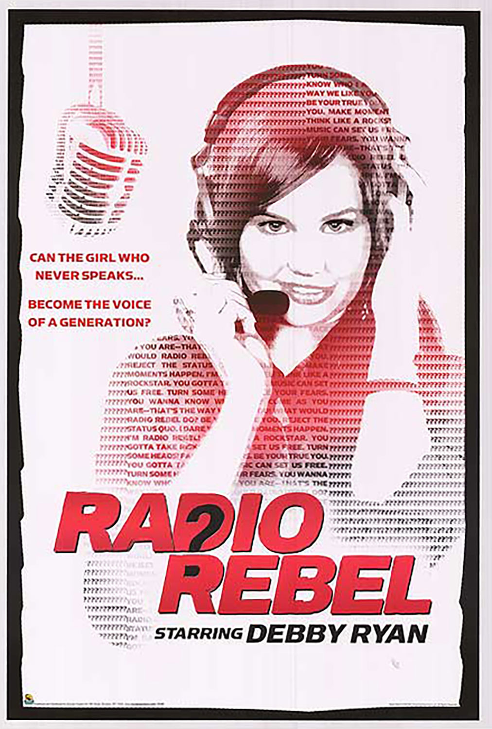 Affiche Poster appelez moi dj radio rebel disney channel
