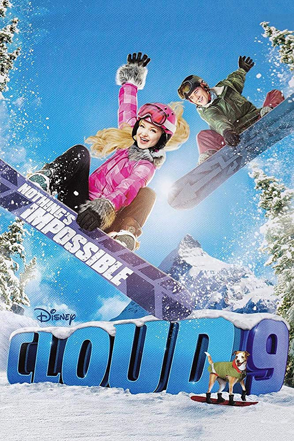 Affiche Poster cloud 9 ultime figure disney channel