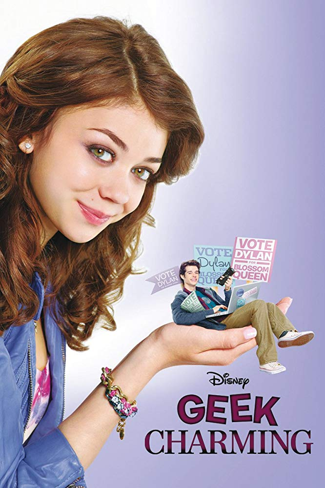 Affiche Poster geek charmant charming disney channel