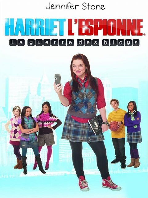 Affiche Poster harriet espionne spy guerre blog war disney channel