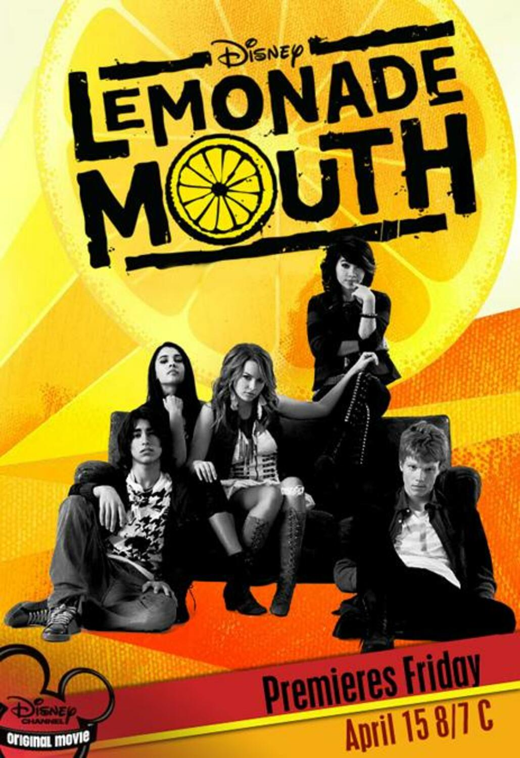 affiche poster lemonade mouth disney channel