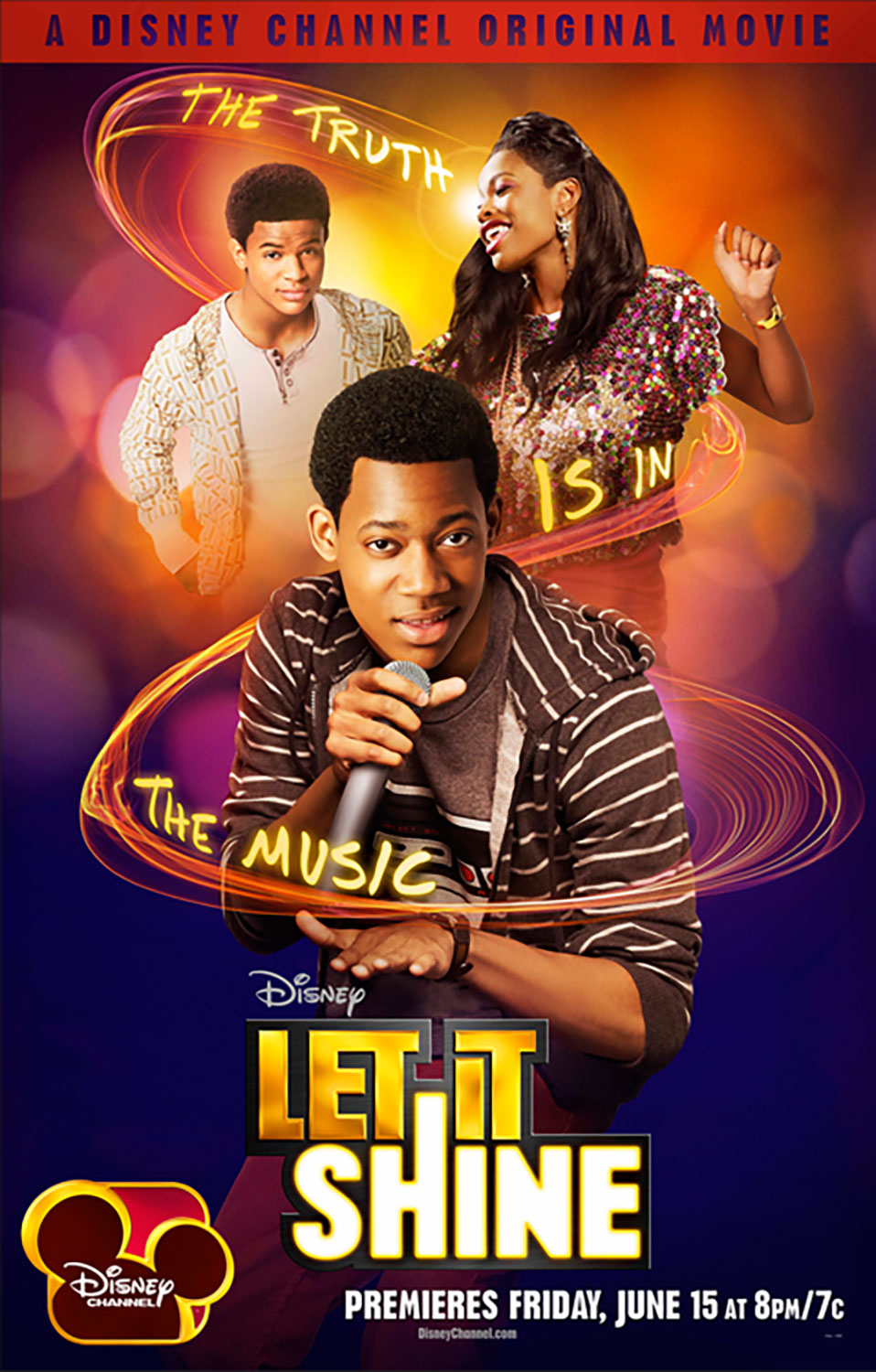 Affiche Poster let it shine disney channel