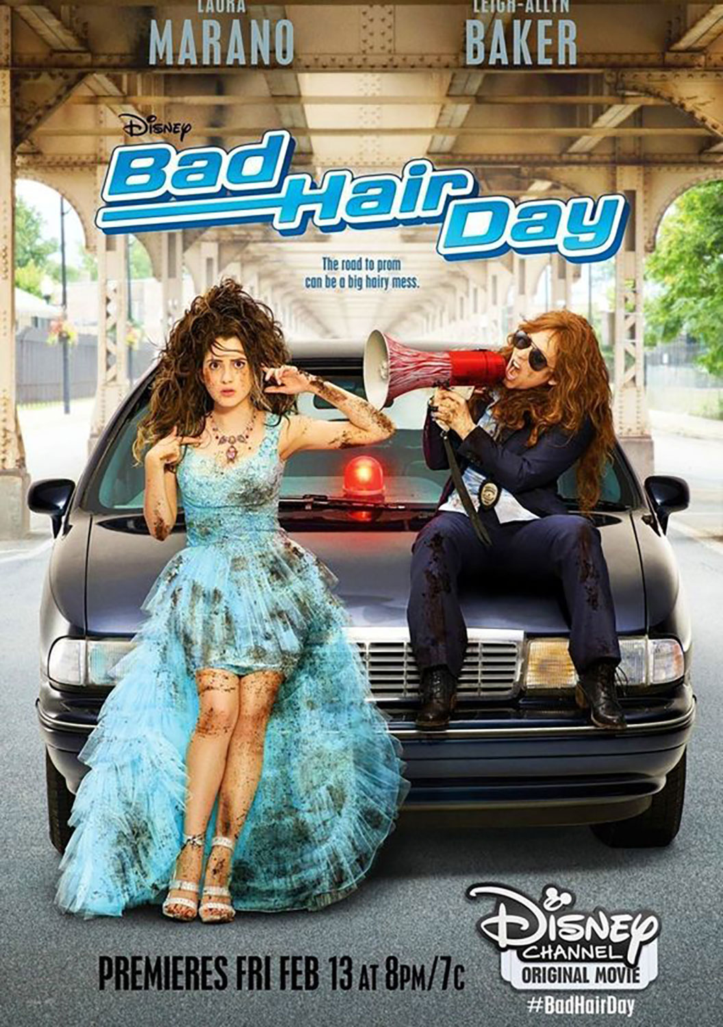 Affiche Poster pire journée bad hair day disney channel