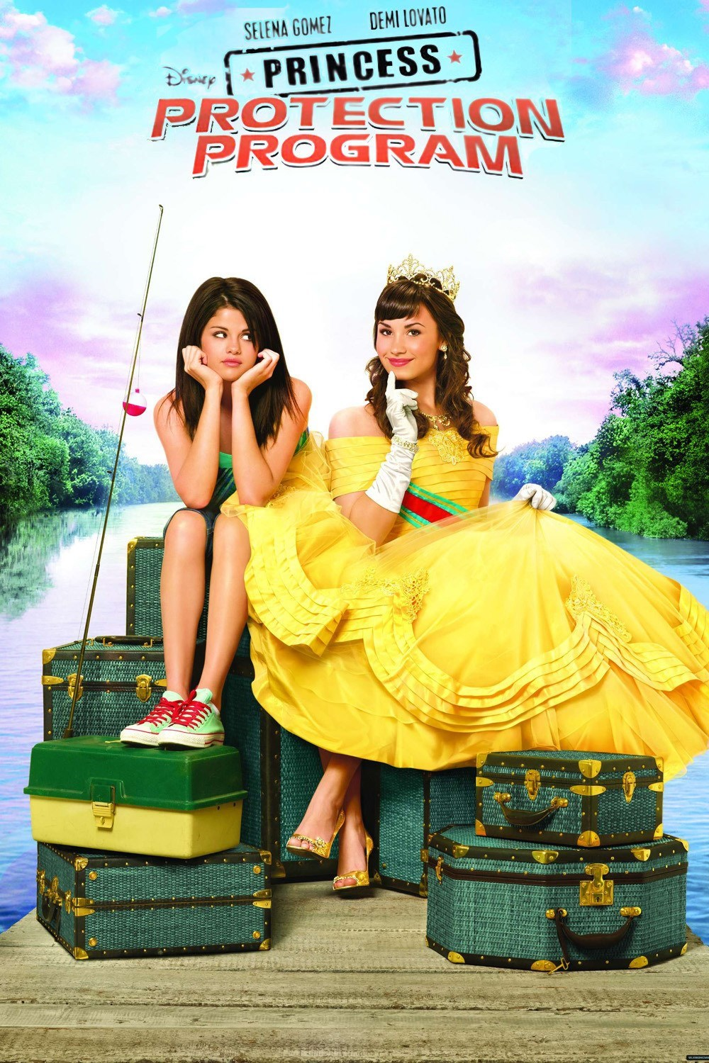 Affiche Poster princess protection program mission rosalinda disney channel