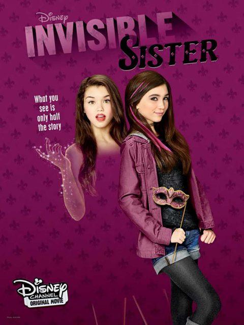 Affiche Poster soeur invisible sister disney channel