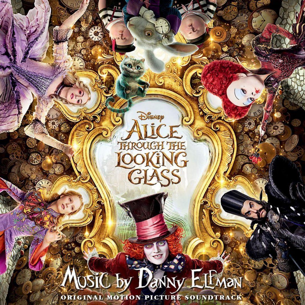 alice de l'autre côté du miroir through the looking glass bande originale soundtrack disney