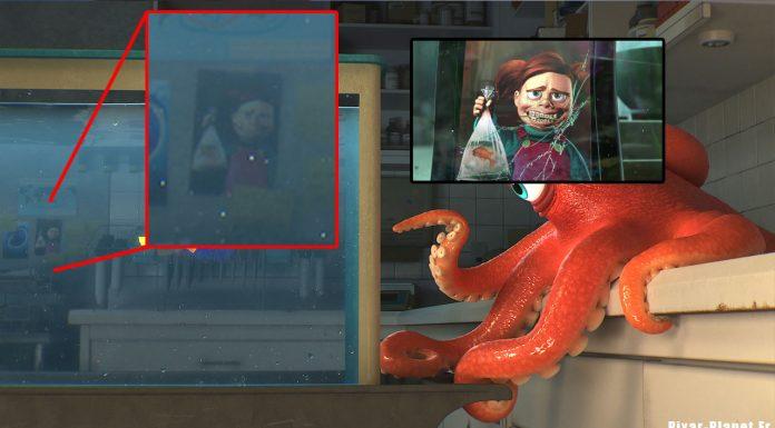 pixar disney clin oeil easter egg le monde de dory finding