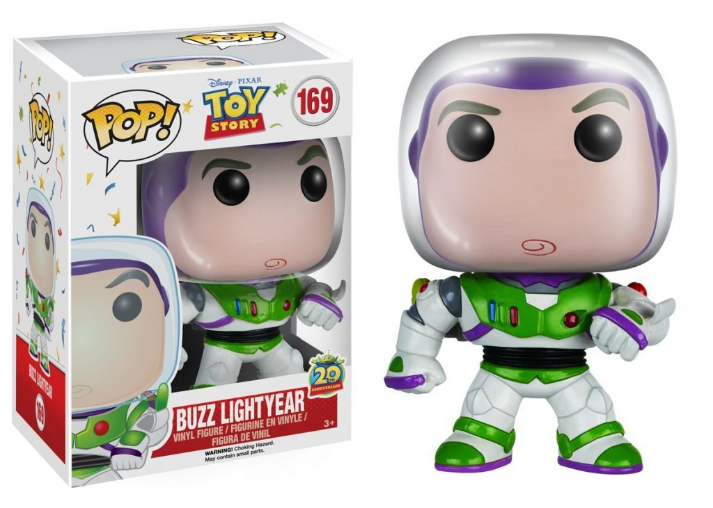 pixar disney funko pop toy story 20 ans 20th anniversary buzz