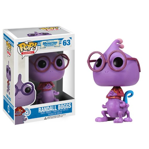 pixar disney funko pop monstres academy monsters university leon randall bogg