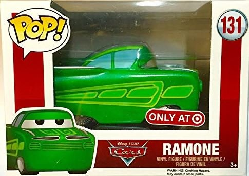 pixar disney funko pop cars ramone