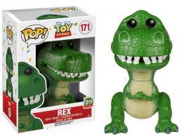 pixar disney funko pop toy story 20 ans 20th anniversary rex