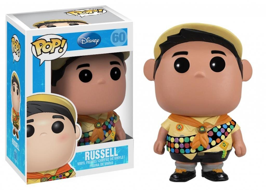 pixar disney funko pop russell là-haut up