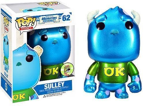 pixar disney funko pop monstres academy monsters university sulli sulley metal iron