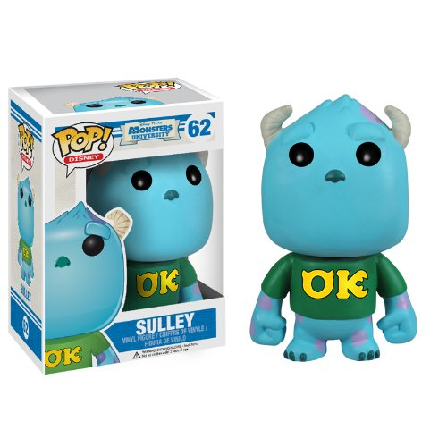 pixar disney funko pop monstres academy monsters university sulli sulley