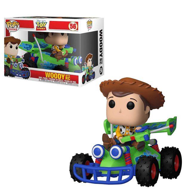 woody karting rc funko pop toy story disney pixar